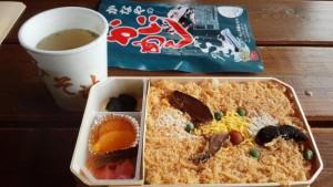 【北海道長万部町】 かにめし本舗かなや 「かにめし弁当&味噌汁」