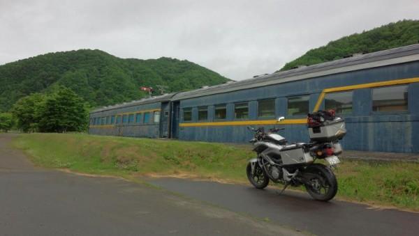 【北海道むかわ町】 旧富内駅列車ハウス