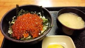【北海道余市町】 海鮮工房柿崎 「いくら丼」