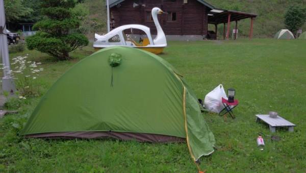 【北海道新ひだか町】 「温泉の森」キャンプ場