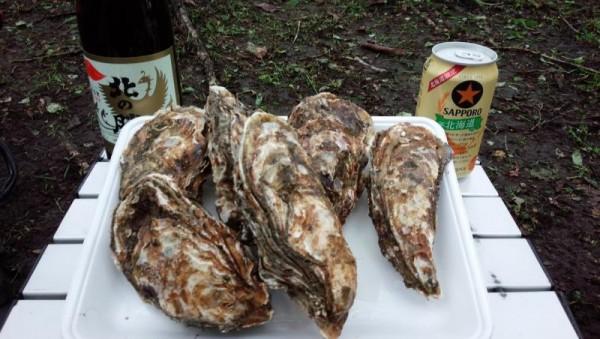 厚岸産の牡蠣