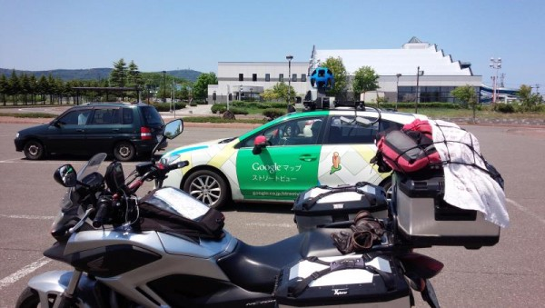 Googleマップストリートビュー撮影車