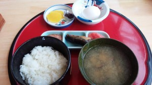 【北海道手塩町】 道の駅 天塩 「寄り道定食」