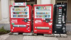 北海道はガムの自販機が多い