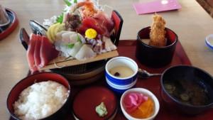 【福島県いわき市】 市場食堂 「刺盛り御膳」