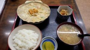【青森県青森市】 青森郷土料理おさない 「ほたて貝焼き味噌定食&けの汁」