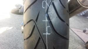 ROAD SMART3 タイヤパターン