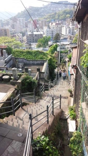 長崎の階段