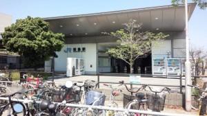 大阪の桜島駅