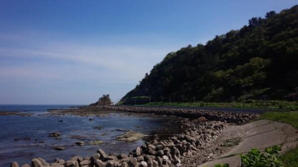 日本海側は走りやすい