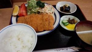 【栃木県日光市】 トンカツ浅井 「ロースカツ定食」