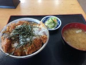 【群馬県渋川市】 道の駅こもち 「かつ丼」