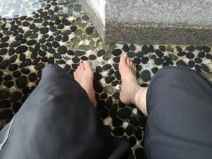 鬼怒川温泉 駅前の足湯