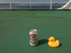 風呂上がりにはビール
