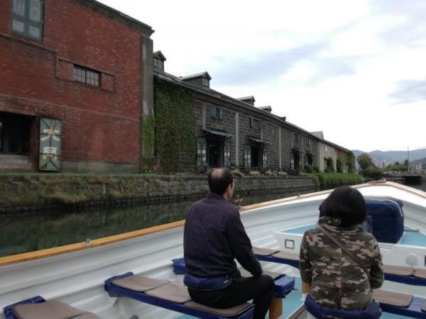 小樽運河クルーズ 南運河
